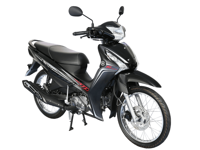 Yamaha FINN สีดำ-เทา l 1