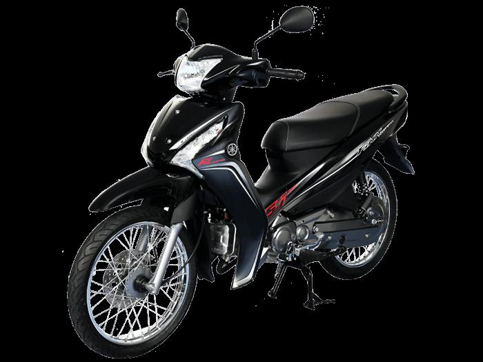 Yamaha FINN สีดำ-เทา l 3