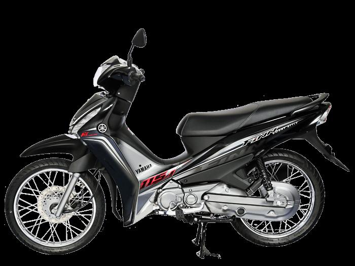 Yamaha FINN สีดำ-เทา l 4