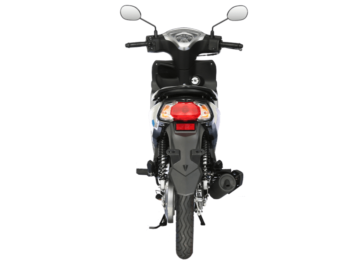 Yamaha FINN สีดำ-เทา l 5