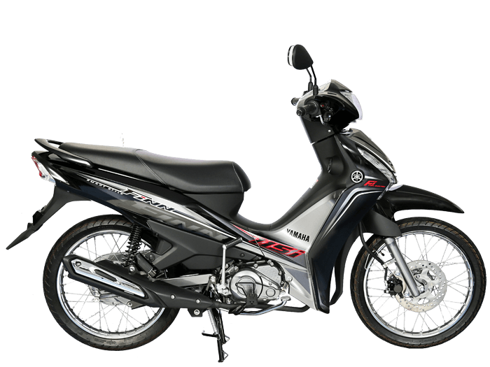 Yamaha FINN สีดำ-เทา l 6