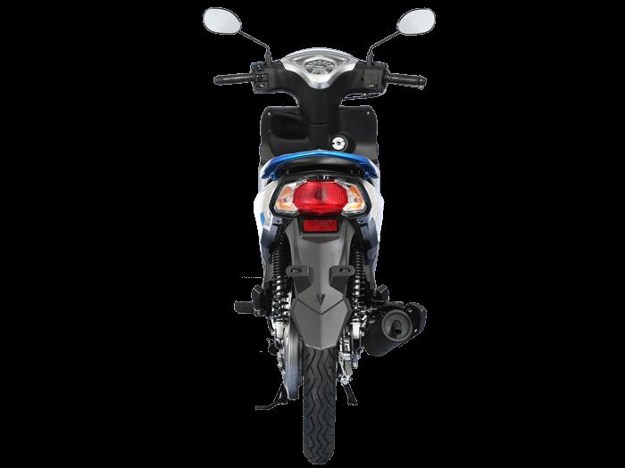 Yamaha FINN สีน้ำเงิน-ดำ-เทา l 1