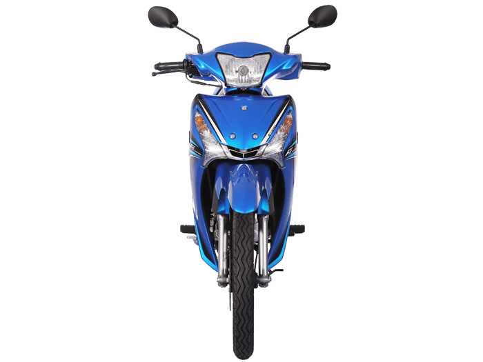 Yamaha FINN สีน้ำเงิน-ดำ-เทา l 4