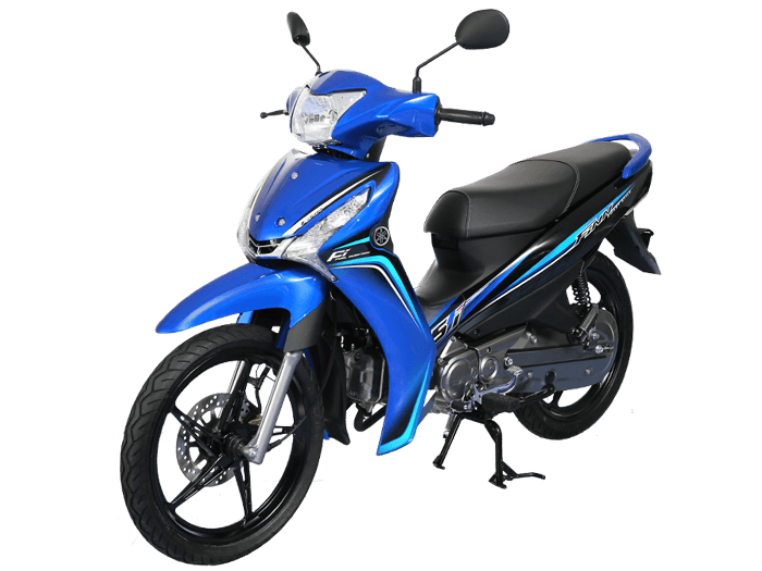 Yamaha FINN สีน้ำเงิน-ดำ-เทา l 5