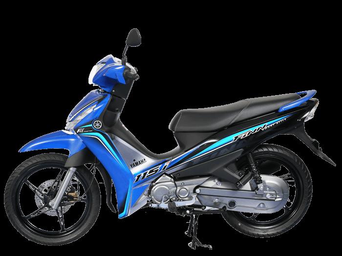 Yamaha FINN สีน้ำเงิน-ดำ-เทา l 6