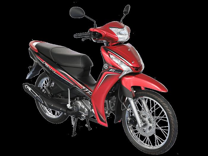 Yamaha FINN สีแดง-ดำ-เทา l 2