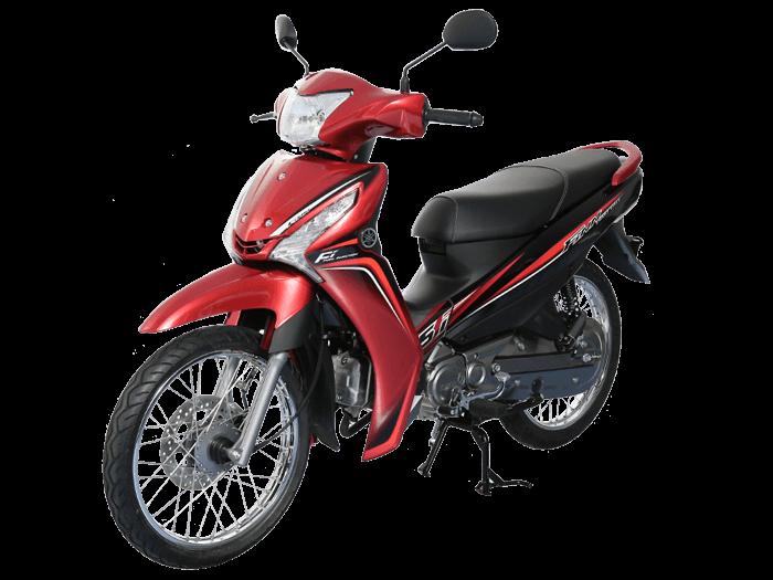 Yamaha FINN สีแดง-ดำ-เทา l 4