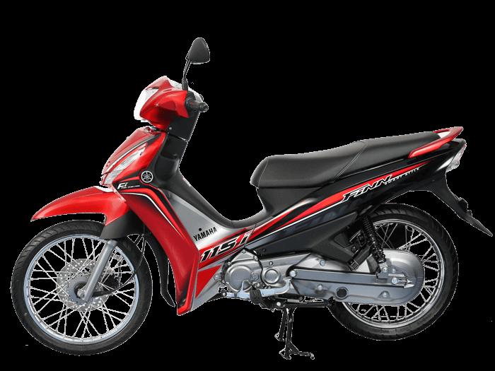 Yamaha FINN สีแดง-ดำ-เทา l 5