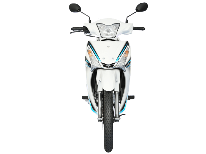 Yamaha FINN สีขาว-เทา-ดำ l 4