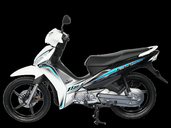 Yamaha FINN สีขาว-เทา-ดำ l 5