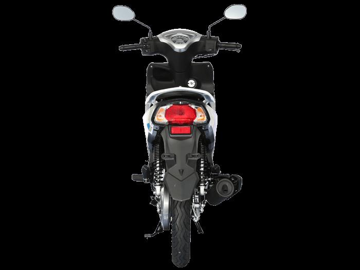 Yamaha FINN สีขาว-เทา-ดำ l 6
