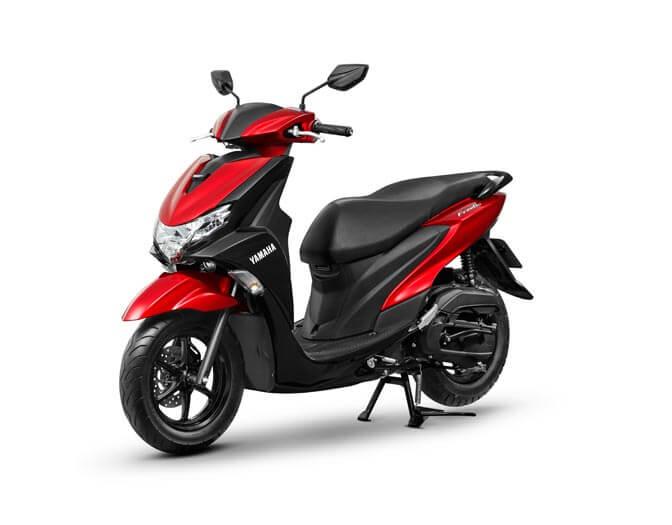 Yamaha Freego Red  (2)