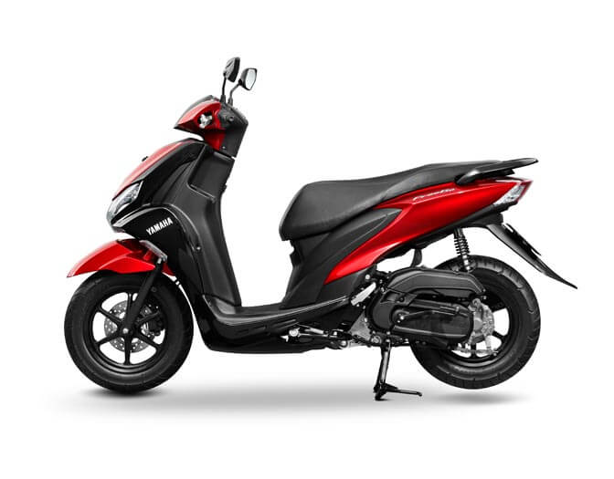 Yamaha Freego Red  (3)