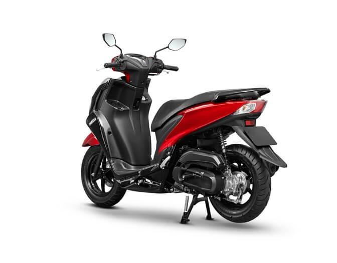 Yamaha Freego Red  (4)