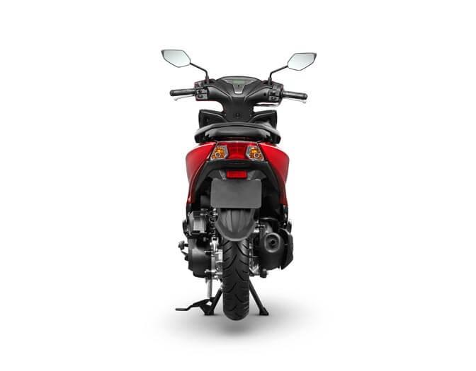 Yamaha Freego Red  (5)