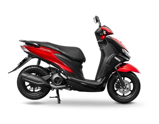 Yamaha Freego Red  (7)