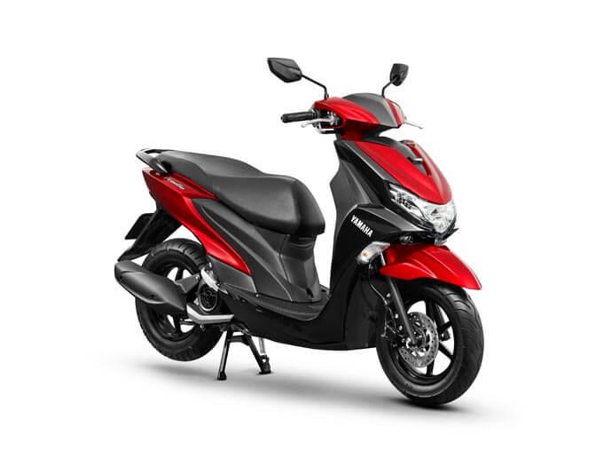 Yamaha Freego Red  (8)