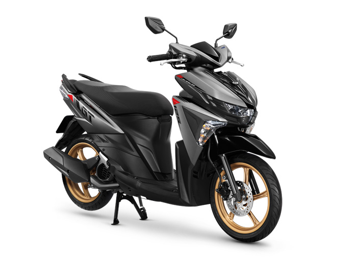 Yamaha-GT125-Gray-Black