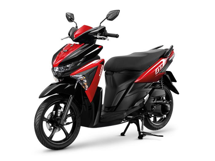 Yamaha-GT125-Red-Black